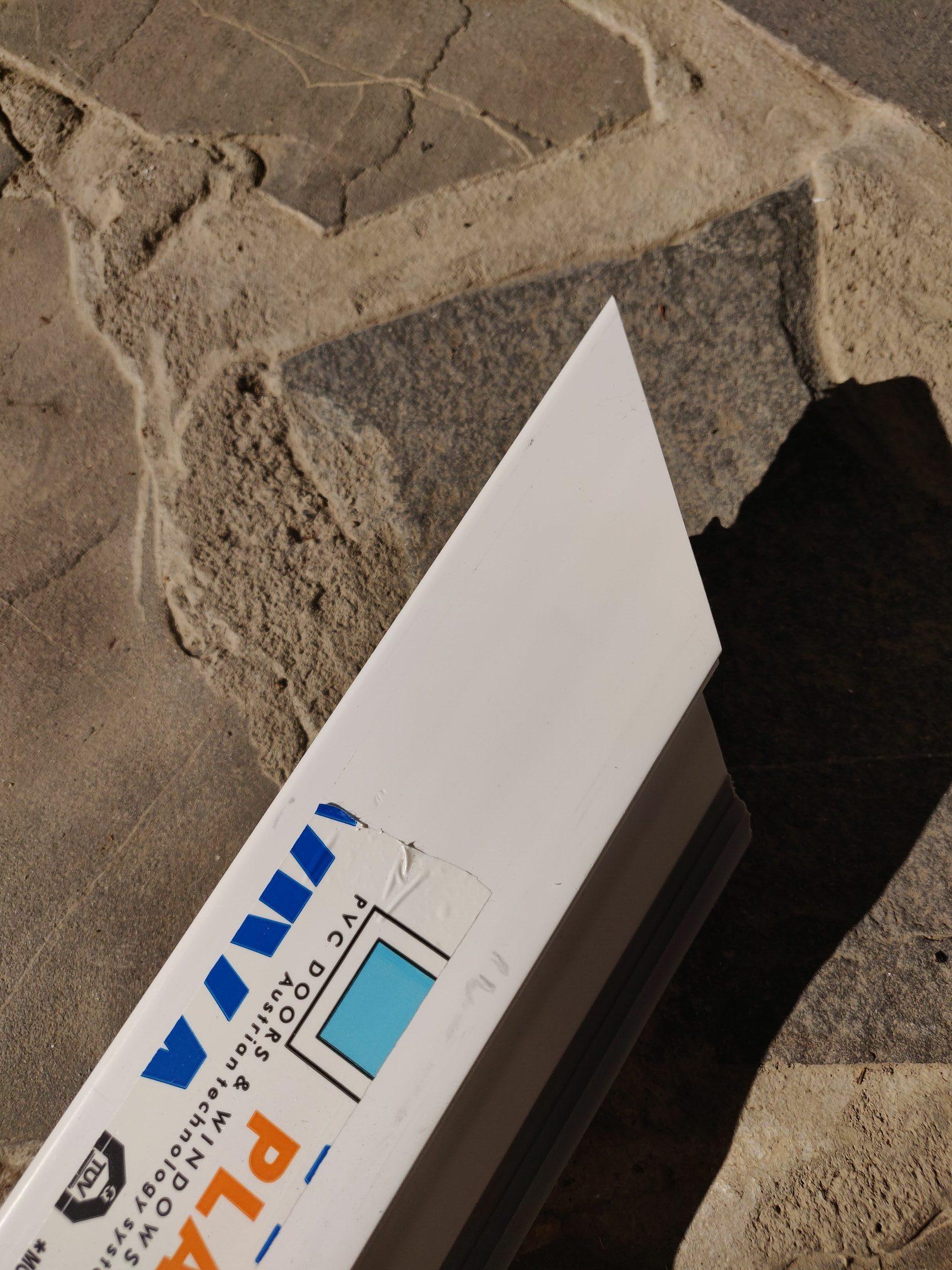 Profil termopan Termopvc Viva Plast Alb.